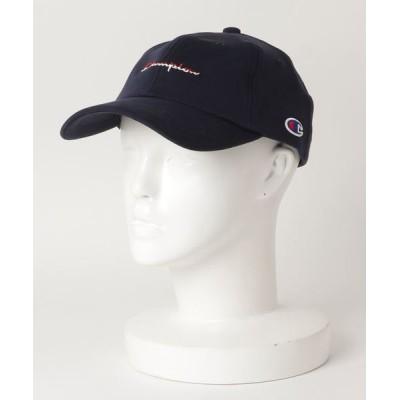 Salong hameu / Champion◆カラースクリプトロゴ刺繍ローキャップ MEN 帽子 > キャップ