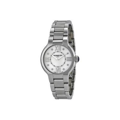 レイモンドウイル 腕時計 Raymond Weil Noemia パール調 ダイヤモンド ダイヤル レディース 腕時計 5932-ST-00995