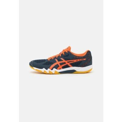 ウニサ メンズ スポーツ用品 GEL BLADE 7 - Multicourt tennis shoes - french blue/marigold orange