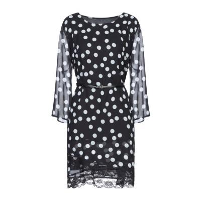 NO SECRETS ミニワンピース&ドレス ブラック 40 ポリエステル 100% ミニワンピース&ドレス
