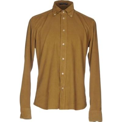 B.D.バギーズ B.D.BAGGIES メンズ シャツ トップス Solid Color Shirt Military green