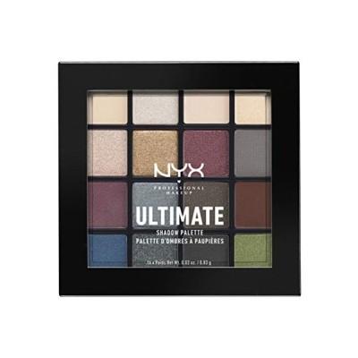 NYX(ニックス) UT シャドウ パレット 01 01 カラースモーキー&ハイライト
