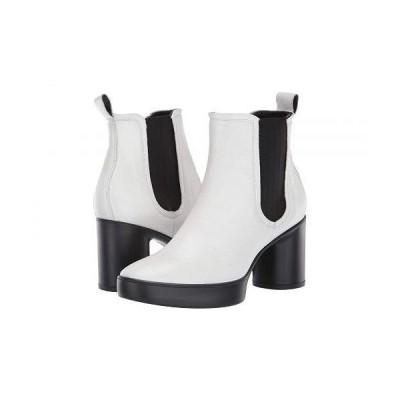 ECCO エコー レディース 女性用 シューズ 靴 ブーツ チェルシーブーツ アンクル Shape Sculpted Motion 55 Chelsea Boot - Bright White