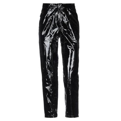 ZEYNEP ARCAY パンツ ブラック 2 羊革(ラムスキン) 100% パンツ