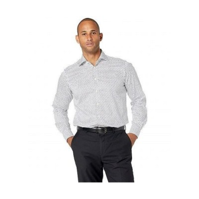 Eton イートン メンズ 男性用 ファッション ボタンシャツ Contemporary Fit Rocket Print Poplin Shirt - Multi