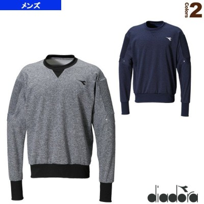 ディアドラ テニス・バドミントン ウェア(メンズ/ユニ)  ELITE スウェットクルーネックシャツ/メンズ(DTP8181)