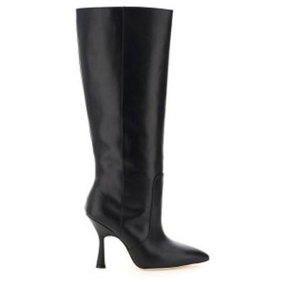 STUART WEITZMAN/スチュアート ワイツマン Black Stuart weitzman parton leather boots レディース 秋冬2020 PARTON ik