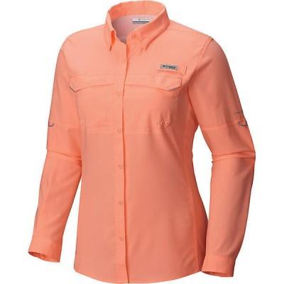 (取寄)コロンビア レディース Lo ドラッグ ロングスリーブ シャツ Columbia Women's Lo Drag LS Shirt Tiki Pink 送料無料