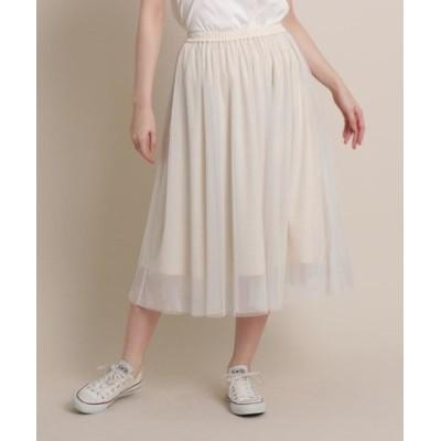【WEB・一部店舗限定カラー】ラメチュールスカート