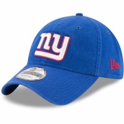 New Era ニュー エラ スポーツ用品  New Era New York Giants Youth Royal Primary Core Classic 9TWENTY Adjustable Hat
