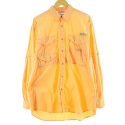 コロンビア Columbia PFG 長袖 フィッシングシャツ メンズM /eaa090811