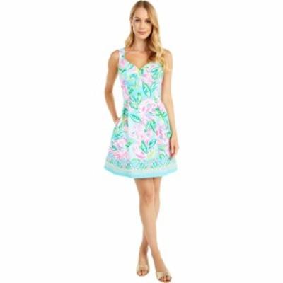 リリーピュリッツァー Lilly Pulitzer レディース ワンピース ワンピース・ドレス Linnet Stretch Dress Multi Totally Blossom Engineer