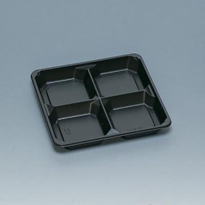 弁当容器 TR-65-3H 黒 400枚【返品不可】