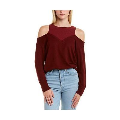 レディース ファッション  Monrow Cold-Shoulder Sweater
