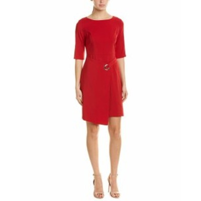 Red  ファッション ドレス Withyou Sheath Dress 4 Red