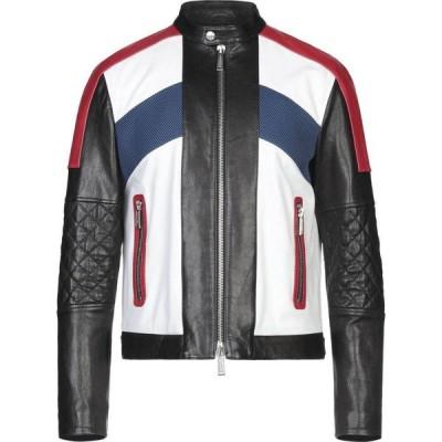 ディースクエアード DSQUARED2 メンズ ジャケット ライダース アウター biker jacket Red