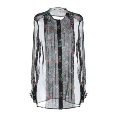 クリストファー・ケイン CHRISTOPHER KANE シャツ ブラック 40 シルク 100% / アクリル樹脂 シャツ