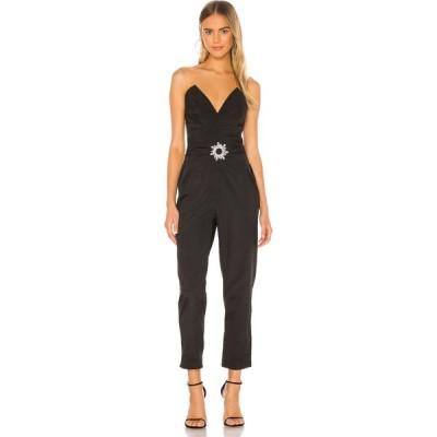 イオラネ IORANE レディース オールインワン ジャンプスーツ ワンピース・ドレス strapless jumpsuit iorane Black