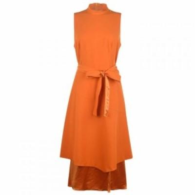 ヒューゴ ボス Hugo レディース ワンピース ワンピース・ドレス hbh ketha dress Orange