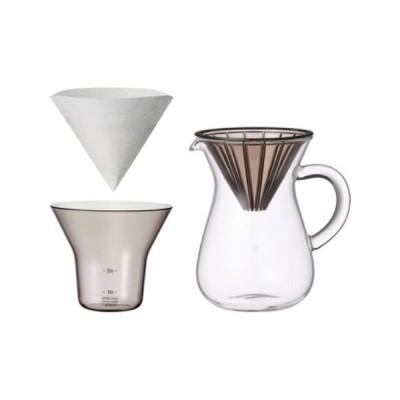 SLOW COFFEE STYLE コーヒーカラフェセット プラスチック 300ml おしゃれ シンプル