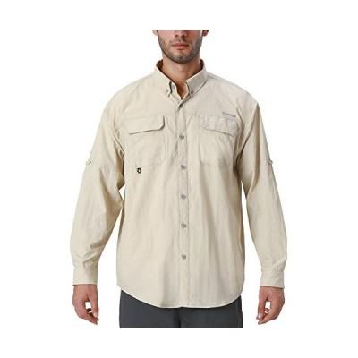 Naviskin メンズ UPF 50+ 日焼け防止 アウトドア 長袖シャツ 軽量 速乾 冷却 フィッシングシャツ