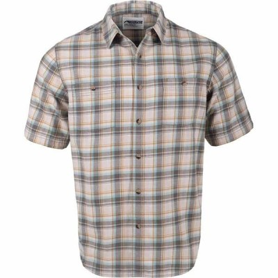 マウンテンカーキス メンズ シャツ トップス Saluda Classic Fit Short-Sleeve Shirt