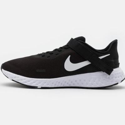 ナイキ メンズ スポーツ用品 REVOLUTION 5 FLYEASE - Neutral running shoes - black/white/anthracite