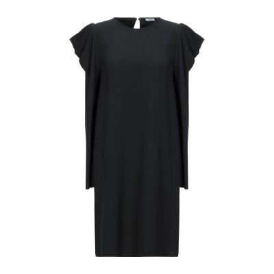 パロッシュ P.A.R.O.S.H. ミニワンピース&ドレス ブラック XS ポリエステル 97% / ポリウレタン 3% ミニワンピース&ドレス