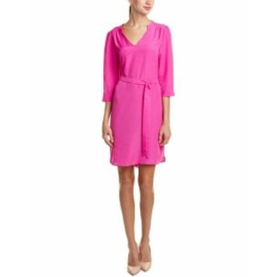 Shift  ファッション ドレス Hutch Belted Shift Dress Xs Pink