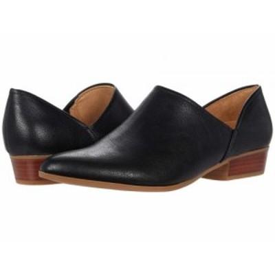 Naturalizer ナチュラライザー レディース 女性用 シューズ 靴 ローファー ボートシューズ Carlyn Black【送料無料】