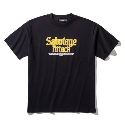 キネティックス Kinetics 半袖Tシャツ ステイトメント Tシャツ (BLACK) 21SS-I