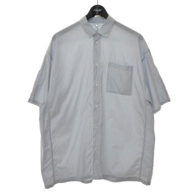 OAMC CAST SHIRT 半袖シャツ スカイブルー サイズ:XS (堀江店) 210414