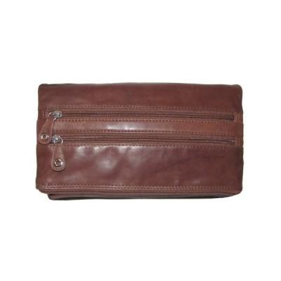 ILI アメリカ 日本未発売 10460748 Convertible Leather Cross-body Wristlet Handbag (Toffee)