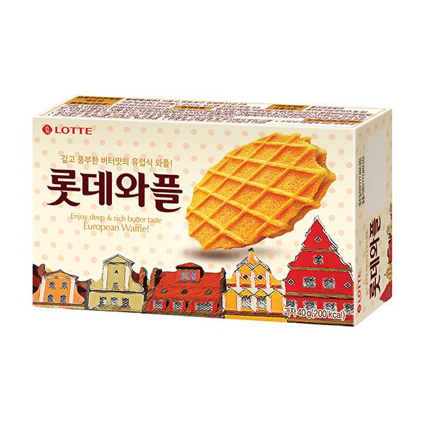 韓國樂天鬆餅40g