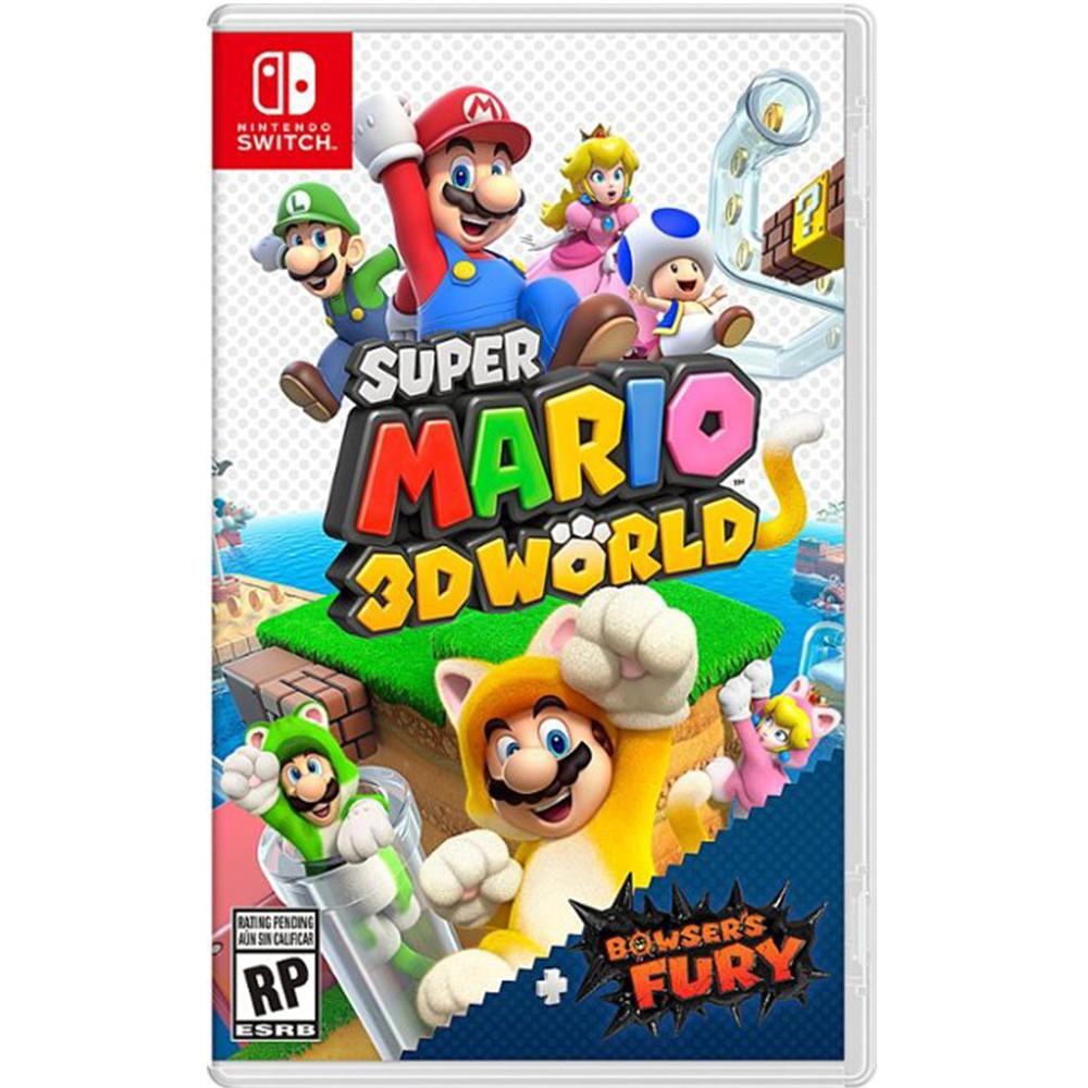 NS Switch 超級瑪利歐3D世界+狂怒世界 中文版 瑪利歐憤怒世界 馬力歐3D世界 現貨不用等【就是要玩】