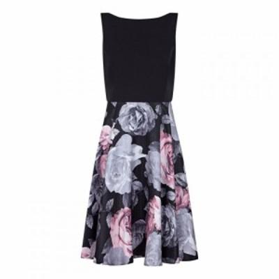アリエラ ロンドン Ariella London レディース パーティードレス ワンピース・ドレス Lana Marie Nima Floral Print Dress BLACK/PINK