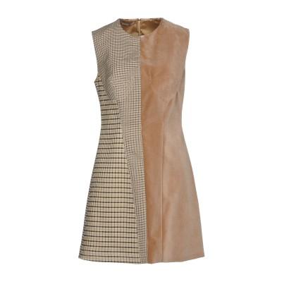 ステラ マッカートニー STELLA McCARTNEY ミニワンピース&ドレス サンド 42 100% ポリエステル ウール コットン ナイロン