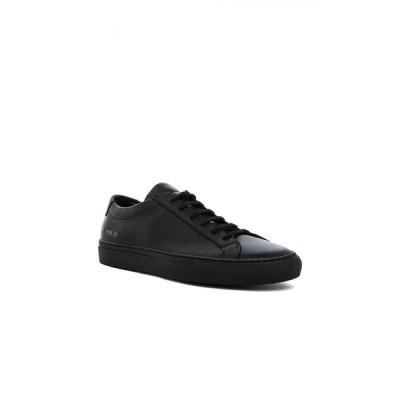 コモン プロジェクト Common Projects メンズ スニーカー シューズ・靴 Original Leather Achilles Low Black