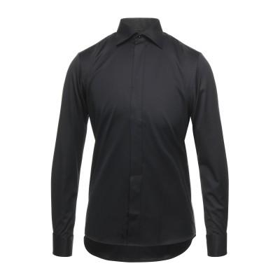 ETON シャツ ブラック 38 コットン 100% シャツ