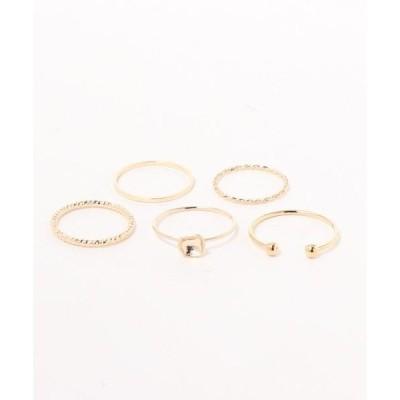 指輪 5リングset