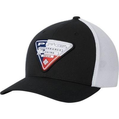 コロンビア 帽子 アクセサリー メンズ Columbia Men's PFG Mesh Stateside Ball Cap Black/TexasTriangle