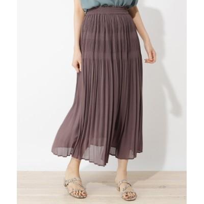 grove / 【LLあり】マジョリカプリーツスカート WOMEN スカート > スカート