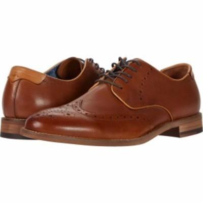 ジョンストンandマーフィー Johnston and Murphy メンズ 革靴・ビジネスシューズ ウイングチップ シューズ・靴 Milliken Wing Tip Tan Fu