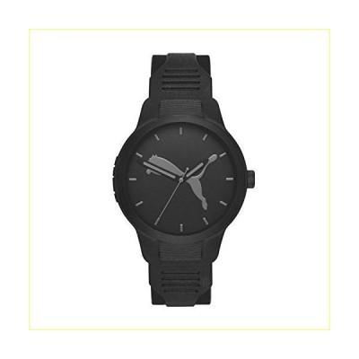 【並行輸入品】PUMA Men Reset V2 Polyurethane Watch, Color: Black (Model: P5004)