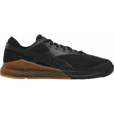 リーボック メンズ スニーカー シューズ Reebok Men's Nano 9 Training Shoes Black/Gum
