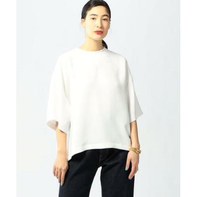 TOMORROWLAND/トゥモローランド 【WEB限定】PE Georgette オーバーTシャツブラウス 11 ホワイト F