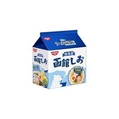 日清食品 ラーメン屋さん 函館しお5食パック 6入