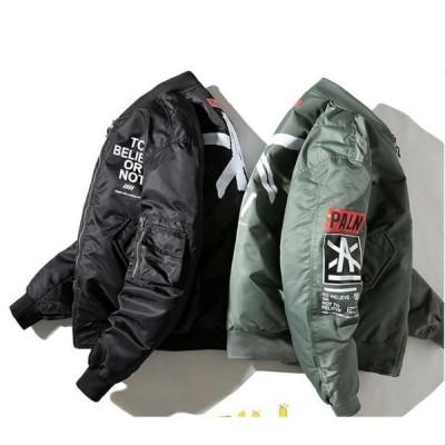 カジュアルジャケット MA-1 メンズ ライダースジャケット  春 秋 3シーズン 通勤 通学 ファッション バイクジャケット