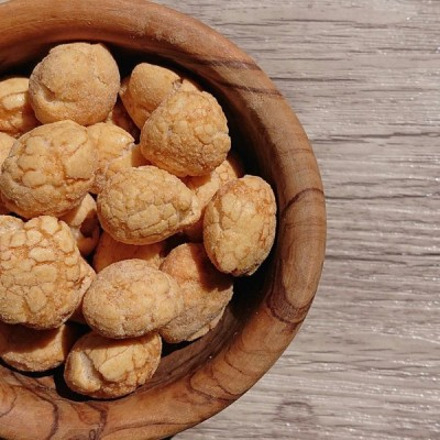 ホタテバター醤油豆 40g×3パック 豆菓子 小江戸 川越