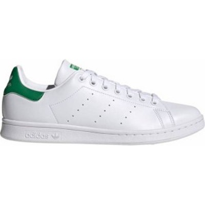 アディダス メンズ スニーカー シューズ adidas Originals Men's Stan Smith Primegreen Shoes White/White/Green